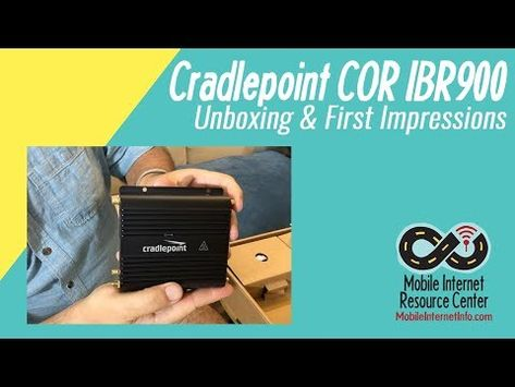Cradlepoint COR IBR900 Launched