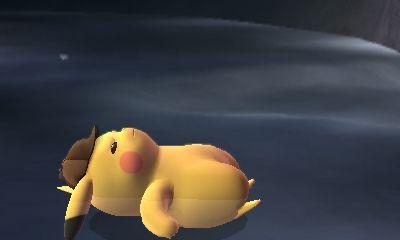 Detective Pikachu Laying Down Pikachu Detective Disney