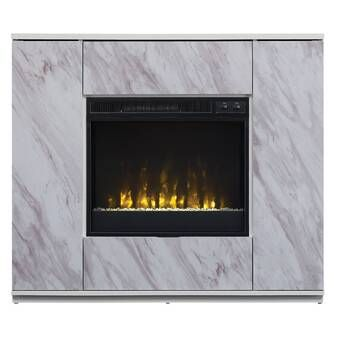 Lauderhill Wall Mounted Electric Fireplace Electric Fireplace