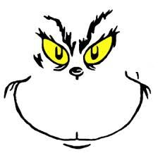 grinch face template - Google Search