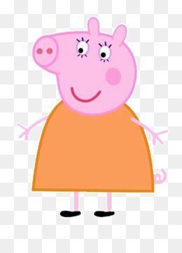 Mummy Pig Daddy Pig George Pig Pig Free Png Downloads Mummy Pig Png
