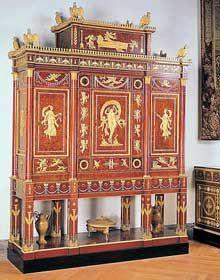 L Art En France Entre 1800 Et 1850 Meuble De Style Mobilier De Salon Coffret Bijoux