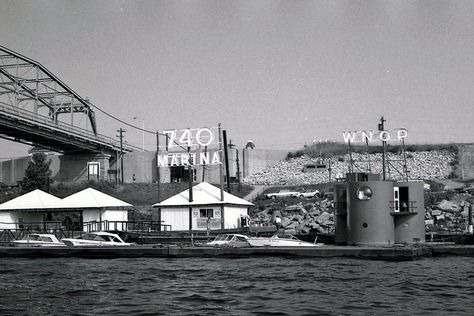 The Jazz Ark, a floating jazz station from the 60's/70's in Cincinnati. AM740 WNOP