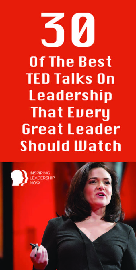 What makes a great leader? In this article we look at 30 of the best Ted Talks on leadership so you can learn from the best in the industry.