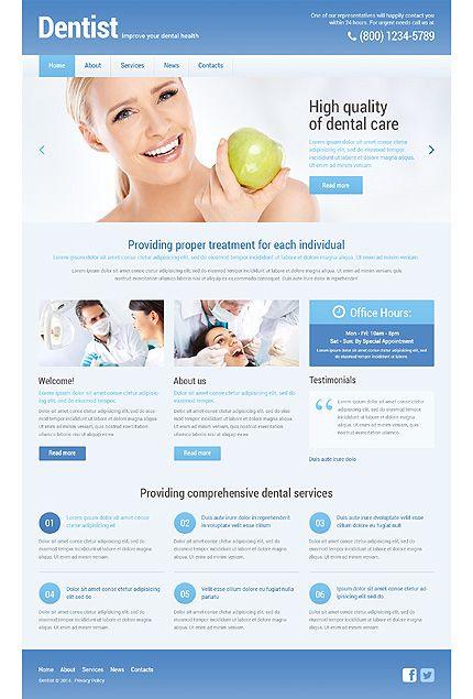 dental web template
