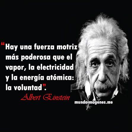 Albert Einstein Frases Celebres Mundo Imagenes Frases