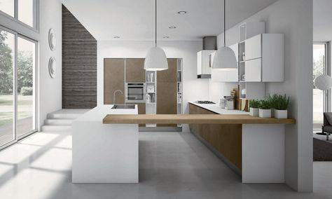 Miró colours by aran cucine mutfak tasarımı Кухонные острова