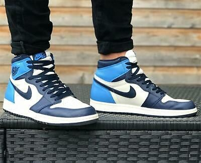 Ebay Sponsored Nike Jordan 1 Retro High Obsidian Unc Size 8 9 10