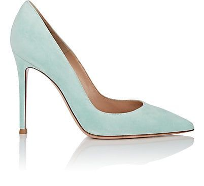 2f2cd34ad86 We Adore: The Gianvito Suede Pumps from Gianvito Rossi at Barneys New York  Pumas Shoes