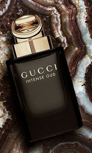 507d0155d Gucci Intense OUD eau de parfum Top notes of pear, raspberry and saffron.  Heart notes of Bulgarian rose and orange flower. Base notes of natural oud  oil and ...