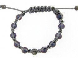 Black Pearl Shambhala Bracelet #12972