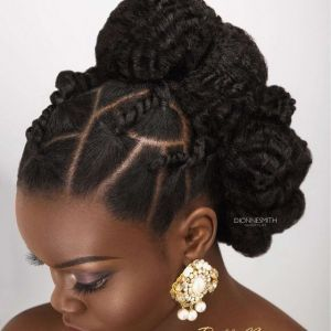 Luxe Coiffure Afro Rennes Coiffureafro Natural Hair Updo Bridal Hair Inspiration Hair Specialist