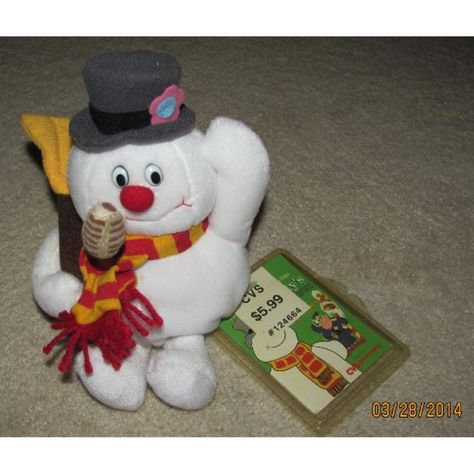 Plush 8 Frosty The Snoman Bean Bag Doll By Stuffins 1999 Click Image To Review More Details This Is An Affiliate Link Puppets Plush Frosty Dolls
