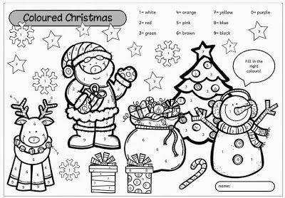 Ideenreise Stationen Zum Thema Christmas Weihnachtsworter Englisch Fur Kinder Grundschule