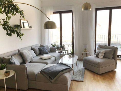 Sofa Inneneinrichtung Vallentuna Ikea #Beachhousedecor | Ikea en ...