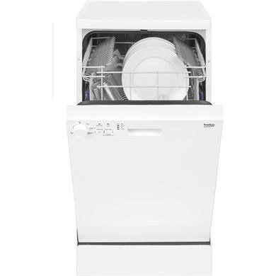Beko Dfs05010w 10 Place Slimline Freestanding Dishwasher White