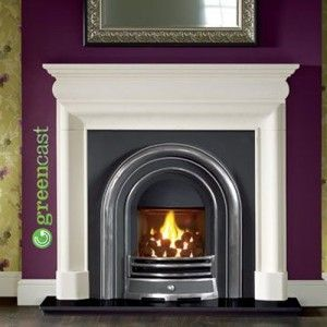 Provident Open Open Fireplace Fireplace Granite Hearth