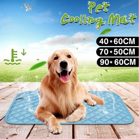 Dog Self Cooling Mat Patented Pressure Activated Cooling Pad For Small Medium Large Dogs Pets For Car Home Travel To He Pet Pads Pet Cooling Mat Your Pet