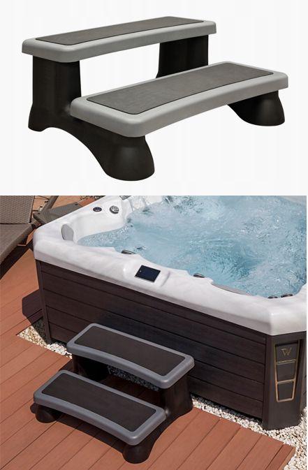 Schodki Z Tworzywa Sztucznego Do Wanny Spa Jacuzzi 7836417316 Oficjalne Archiwum Allegro Jacuzzi Hot Tub Tub