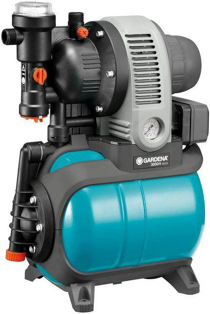 Hauswasserwerk 3000 4 Eco 01753 61 2 800 L H Max Fordermenge Wasserwerk Ruckschlagventil Und Ventilator