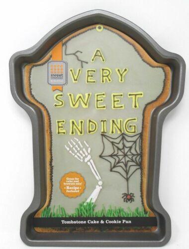 Halloween 2020 Ending Halloween Tombstone Metal Cake Cookie Pan 034 A Very Sweet Ending
