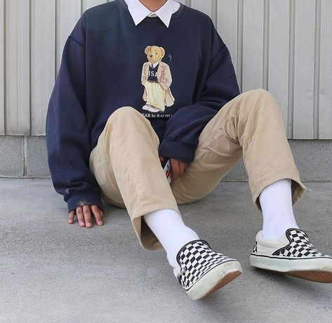 Soft Boy Fashion Kids Fashion - Source by - Indie Outfits, Retro Outfits, Vintage Outfits, Teen Boys Outfits, Korean Outfits, Fashion Outfits, Teenager Outfits, Cool Outfits For Boys, Grunge Outfits
