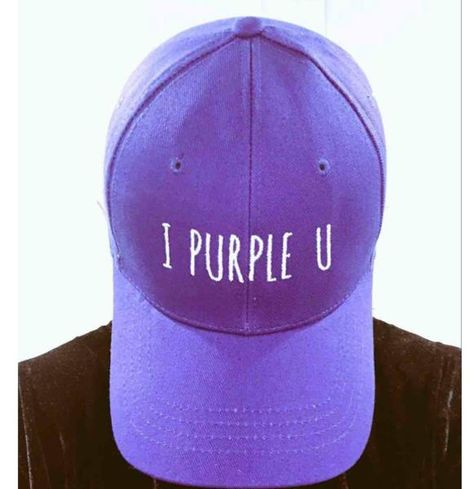 a76e2231 Taehyung's 'I Purple You' is trending all over the world. Show your love  for BTS with this stylish purple 'I Purple You' baseball cap.