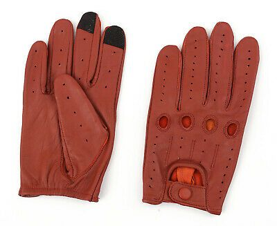 Men`s Soft Sheep Leather Unlined Dress Gloves