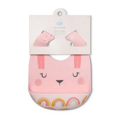 Elastic Bib Baby Pattern Rabbit