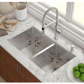 Kraus Kitchen Sink Set With Images Kitchen Sink Remodel Best Kitchen Sinks Kitchen Sink Design