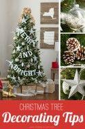 Christmas Tree DIY Decorating Tips | via Make It and Love It