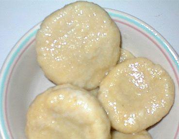 dumpling and butter