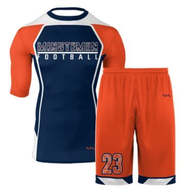 7 On 7 Football Full Compression Uniforms Boombah Men S Youth