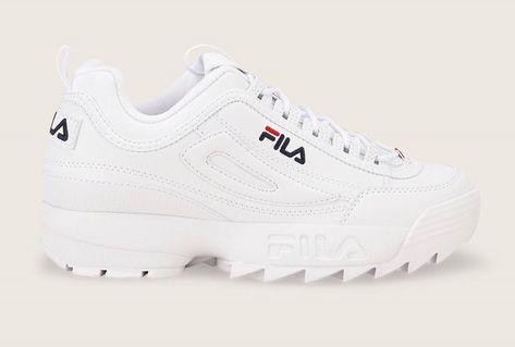 Xtw0qhws8 Cuir Pinterest Sneakers Blanc Disruptor Fila En Chaussure FclJK1