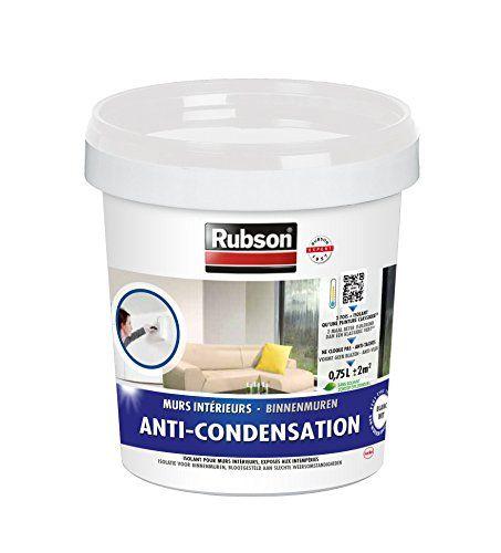 Rubson 1383397 Anti Condensation Pot Plastique Blanc 0 75l