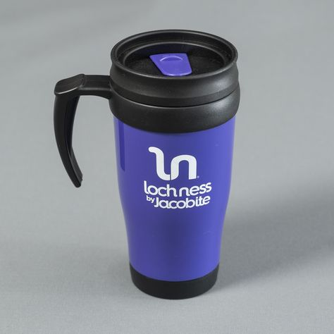 Our classic Loch Ness purple thermal mug. The perfect partner in crime to supply you with a morning wake up and call and warm you up o these cold mornings. with a tight lid, your thermal buddy can be popped into your bag once you have enjoyed your morning drink. The ideal size for commuting, easy to clean and of course eco friendly.