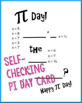 Pi Day Algebra Solve Exponential Equations Algebra Equations Exponential