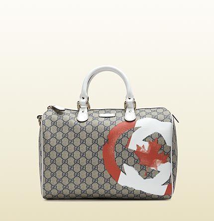 b313e6efe58 Gucci - limited edition flag boston bag 195451KHJ1G9778