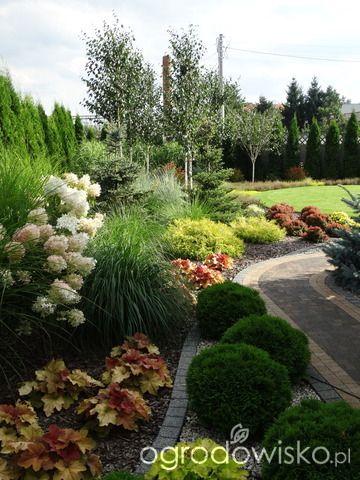Na Zielonej Trawce Strona 2 Forum Ogrodnicze Ogrodowisko Front Garden Landscape Garden Landscape Design Front Yard Landscaping