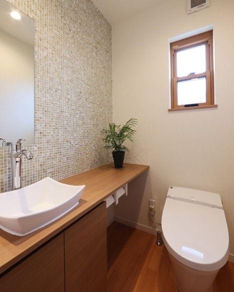 Lixil リクシル 公式さんはinstagramを利用しています トイレの施工事例 シンプルでゆとりある空間 一面の壁にタイルを貼ったことで明るくすっきりとした空間にもなりました 使用されているトイレは サティス です Lixil リクシル