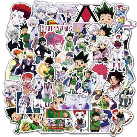 Hunter X Hunter Stickers 50 Pack