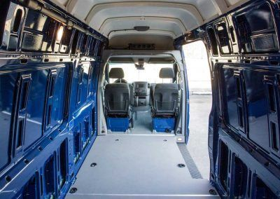Mercedes Benz Sprinter Rear Cargo Hvac For Heating Cooling Projetos