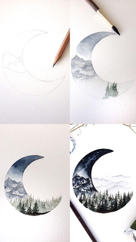 ▷ 1001 + idées et techniques pour réaliser une peinture à l'aquarelle facile