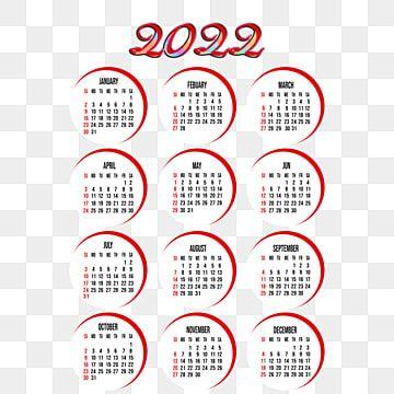 Chinese New Year Calendar 2022.