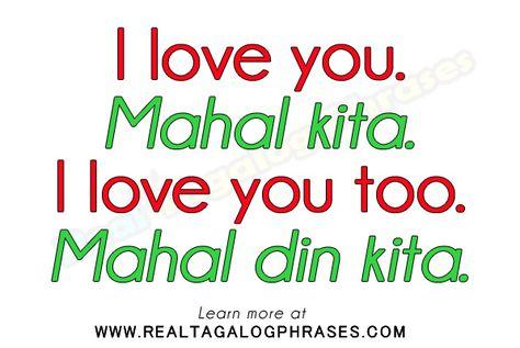 Bedenken in Tagalog