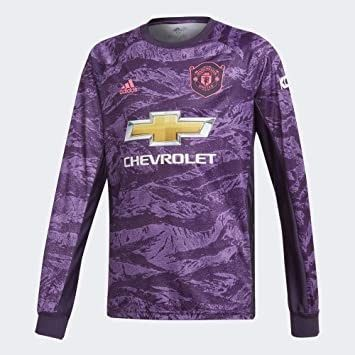 Amazon Com Adidas Man Utd Kids Home Gk Jersey 2019 2020 Manchester United H In 2020 Manchester United Football Kit Goalkeeper Shirts Manchester United Goalkeeper Kit