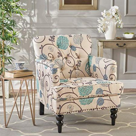Farmhouse Accent Chairs Rustic Accent Chairs Tufted Club