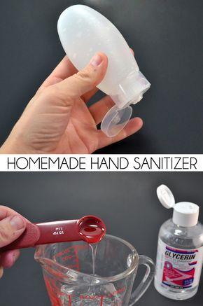Homemade Hand Sanitizer Hand Sanitizer Homemade Cracked Hands