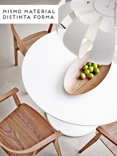 INSPIRACIÓN | Encima de la mesa | Ikea sillas, Ikea ...