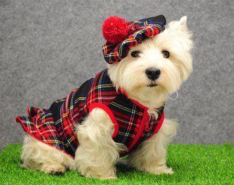 Westie Plaid Cap Tweed Dog Cap Scottish Plaid Tam Westie Etsy Scottish Plaid Scottish Hat Westies
